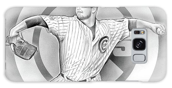 Chicago Galaxy S8 Case - Cubs 2016 by Greg Joens