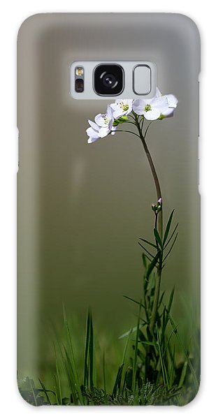 Cuckoo Flower Galaxy Case by Ian Hufton