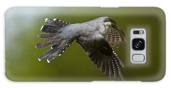 Cuckoo Flying Galaxy Case by Steen Drozd Lund