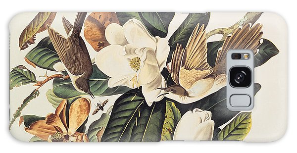 Cuckoo On Magnolia Grandiflora Galaxy Case by John James Audubon
