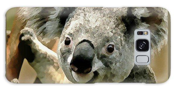 Galaxy Case - Cuddly Koala by Raven Hannah