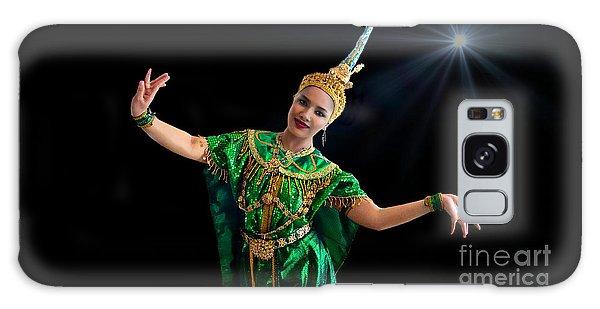 Cultural Thai Dance Galaxy Case
