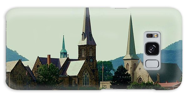 Cumberands Steeples Galaxy Case by Eric Liller