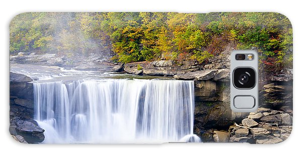 Cumberland Falls Galaxy Case by Alexey Stiop