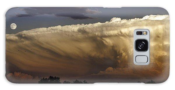 Cumulonimbus At Sunset Galaxy Case