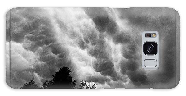 Cumulonimbus Clouds Over Cagliari Galaxy Case
