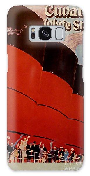 Cunard-white Star Ocean Liner Poster Galaxy Case