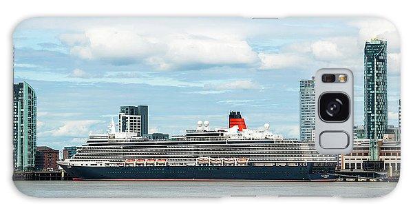 Cunard's Queen Elizabeth At Liverpool Galaxy Case