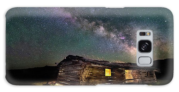 Cunningham Cabin After Dark Galaxy Case