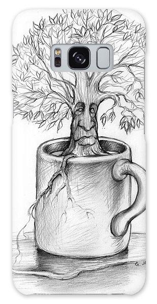Cup-o-tree Galaxy Case