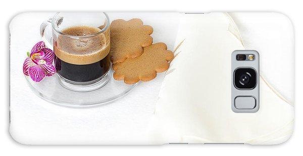 Cup Of Espresso Galaxy Case