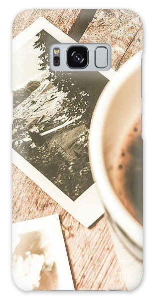 Time Frame Galaxy Case - Cup Of Nostalgia by Jorgo Photography - Wall Art Gallery