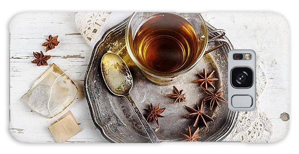 Cup Of Tea Galaxy Case