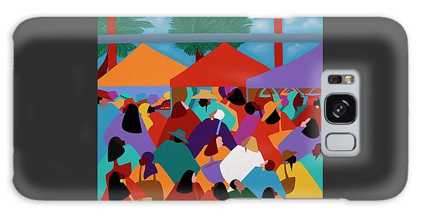 Galaxy Case - Curacao Market by Synthia SAINT JAMES