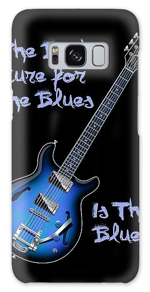 Cure For The Blues Shirt Galaxy Case