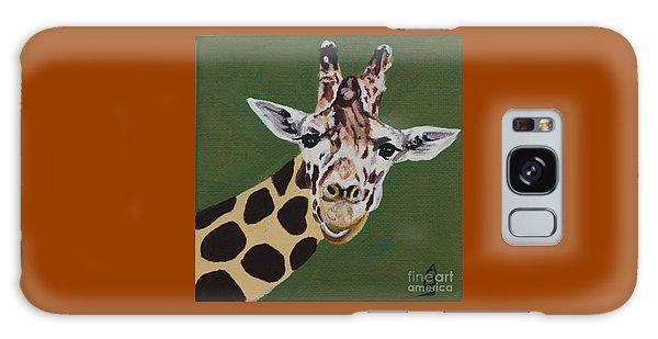 Curious Giraffe Galaxy Case