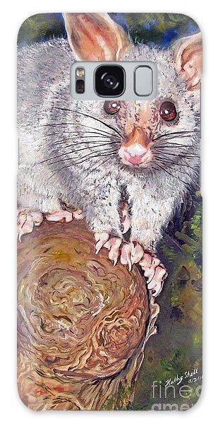 Curious Possum  Galaxy Case