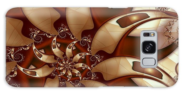 Curl Around Galaxy Case by Michelle H