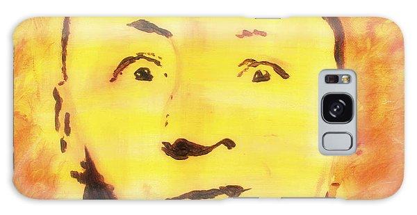 Curly Howard Three Stooges Pop Art Galaxy Case by Bob Baker