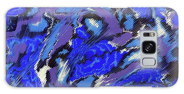 Currents And Tides  Galaxy Case by Cathy Beharriell