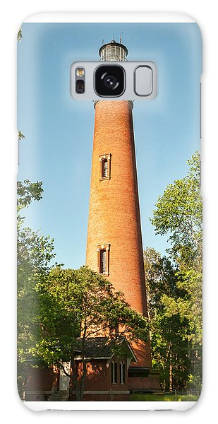 Currituck Beach Lighthouse Galaxy Case