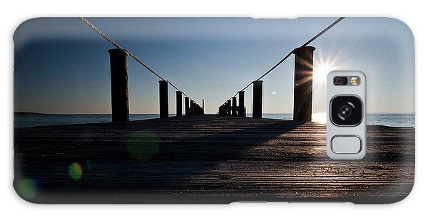 Currituck Sunset Galaxy Case