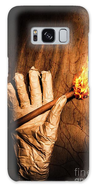 Wrap Galaxy Case - Curse Of The Tomb Robber by Jorgo Photography - Wall Art Gallery