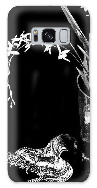 Vase Of Flowers Galaxy Case - Curtsey by Diana Angstadt