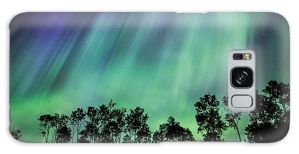 Curtain Of Lights Galaxy Case