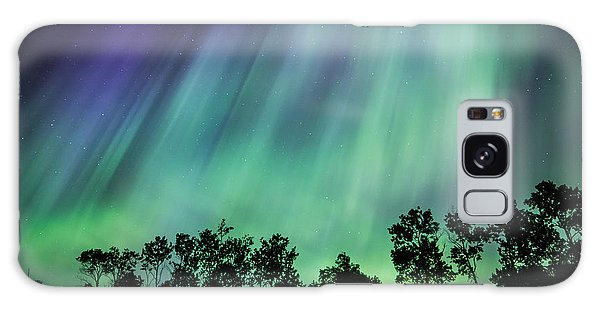 Curtain Of Lights Galaxy Case