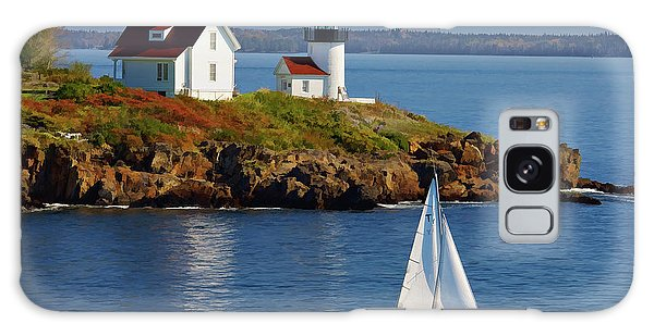 Curtis Island Lighthouse - D002652b Galaxy Case