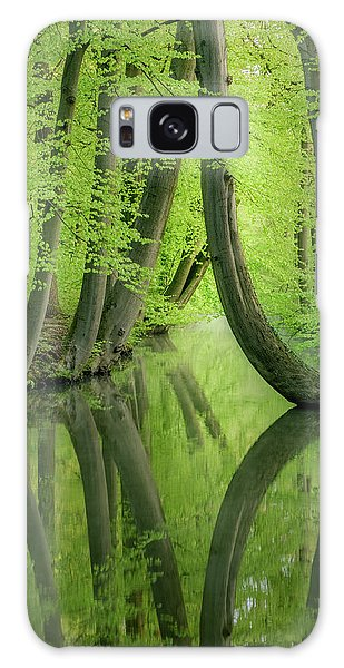 Curved Trees Galaxy Case