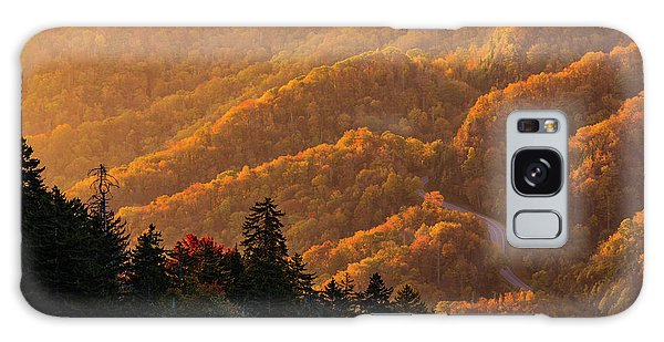 Smoky Mountain Roads Galaxy Case