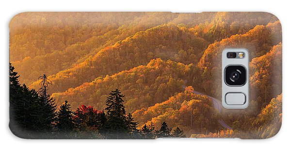Smoky Mountain Roads Galaxy Case