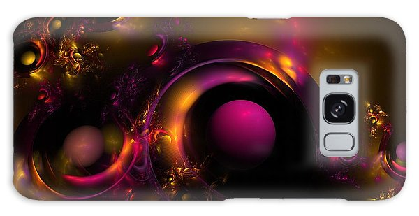 Curvy Baby Galaxy Case by Lyle Hatch