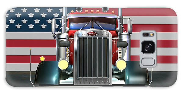 Made Galaxy Case - Custom Peterbilt 2 by Stuart Swartz
