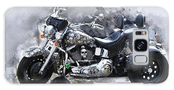 Customized Harley Davidson Galaxy Case