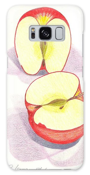 Cut Apple Galaxy Case by Rod Ismay