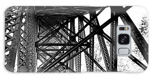 Cut River Bridge Galaxy Case