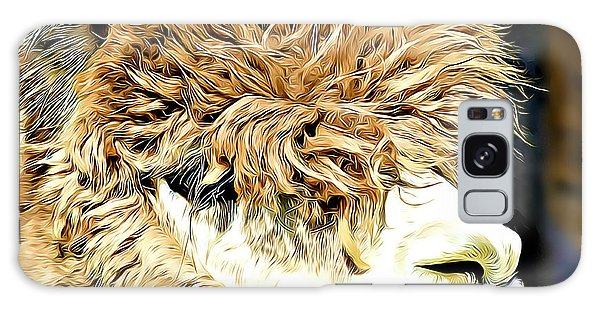 Soft And Shaggy Galaxy Case by Kathy M Krause