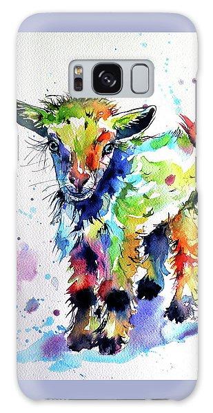 Cute Baby Goat Galaxy Case by Kovacs Anna Brigitta