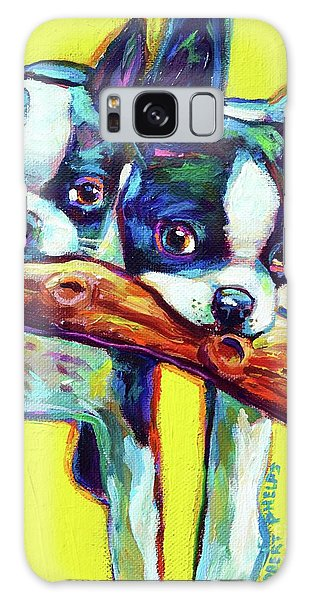 Cute Boston Terriers Galaxy Case