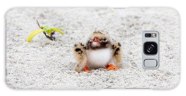 Cute Chick At Beach Galaxy Case