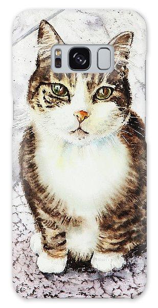 Calico Cat Galaxy Case - Cute Furry Friend Cat Painting by Irina Sztukowski