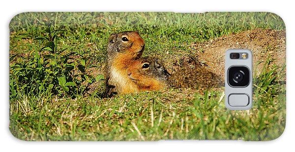 Groundhog Galaxy Case - Cute Ground Squirrels by Robert Bales