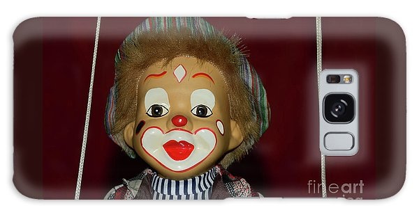 Galaxy Case featuring the photograph Cute Little Clown By Kaye Menner by Kaye Menner