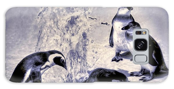 Cute Penguins Galaxy Case