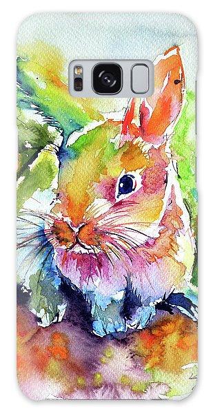 Cute Rabbit Galaxy Case by Kovacs Anna Brigitta