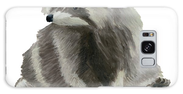 Cute Raccoon Galaxy Case
