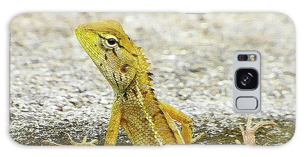 Cute Yellow Lizard Galaxy Case